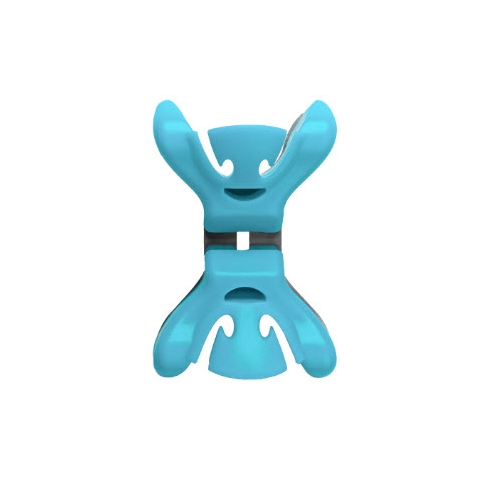 Stixx Clenchy Slingerklemmen Blauw