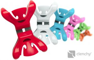 Clenchy, slingerklemmen, ophangsysteem voor slingers